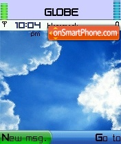 Blank Xp With Cursor theme screenshot
