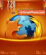 Firefox Orange V2 theme screenshot