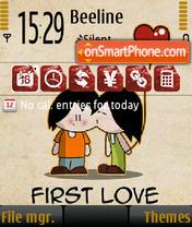 First Love es el tema de pantalla