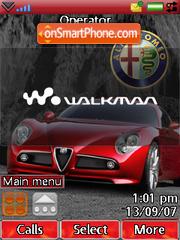 Alfa Romeo theme screenshot