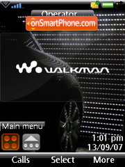 Black style car theme screenshot