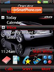 Audi Red Carbon theme screenshot