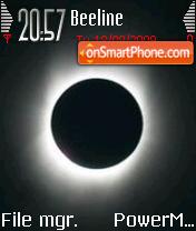 Solar Eclipse es el tema de pantalla