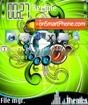 Music Player V3 theme screenshot