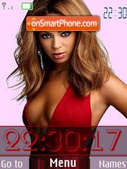 Beyonce theme screenshot