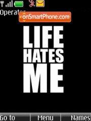 Life Hates me es el tema de pantalla