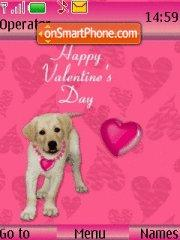 Valentine Special 03 theme screenshot