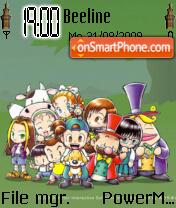 Harvestmoon friends of mineral town es el tema de pantalla