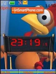 Moorhuhn theme screenshot