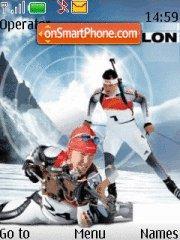 Biathlon es el tema de pantalla