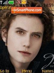 Jasper Cullen es el tema de pantalla