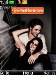 Edward and Bella theme screenshot