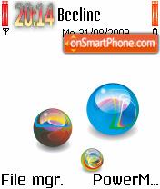 Balls 03 theme screenshot