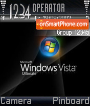 Windows Vista 07 theme screenshot