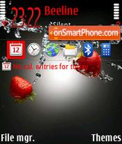 Strawberry 03 theme screenshot