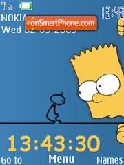 Bart Simpsons theme screenshot