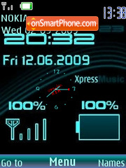Capture d'écran Xpress Music thème