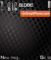 Carbon Black 01 theme screenshot