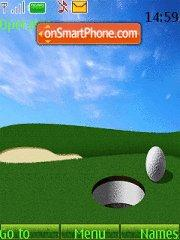 Golf 07 theme screenshot