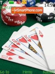 Texas Holdem es el tema de pantalla