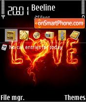 Love 31 es el tema de pantalla