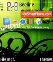 Green Ace Light theme screenshot