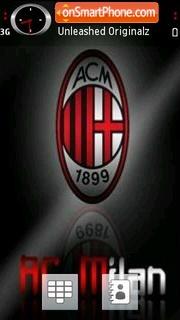 Milan 2009 tema screenshot