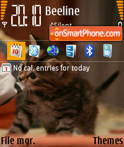 Kitten def theme screenshot