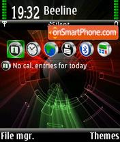 Color abstrakt 01 es el tema de pantalla