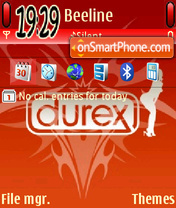 Red durex 01 es el tema de pantalla
