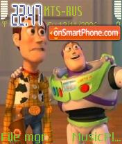 ToyStory 2 theme screenshot