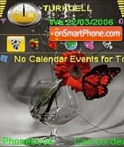 Animated Flowers theme screenshot