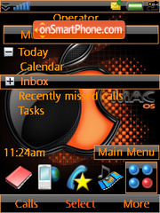 MacOS theme screenshot