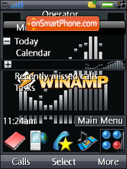 Winamp theme screenshot
