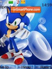 Sonic 13 tema screenshot