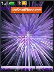Ads lilac animated es el tema de pantalla