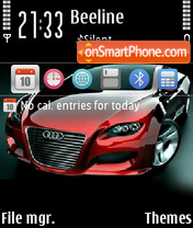 Audi Locus 02 es el tema de pantalla