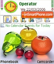 Fruit theme screenshot