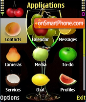 Tutti Frutti theme screenshot
