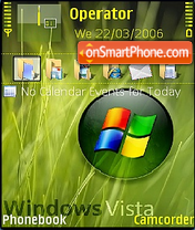 W vista theme screenshot