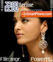 Aishwarya Rai 05 theme screenshot