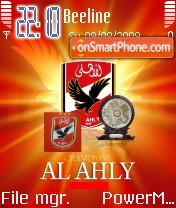 Al Ahly Champion theme screenshot