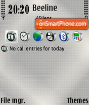 Gray 02 es el tema de pantalla