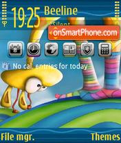 Giraffe 02 es el tema de pantalla