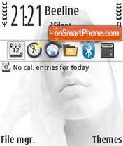 White girl v3 theme screenshot