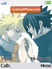 Naruto yaoi es el tema de pantalla