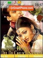 Hum Dil De Chuke Sanam theme screenshot