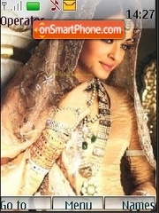 Aishwarya rai theme screenshot