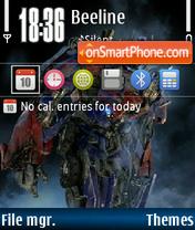 Transformers 03 es el tema de pantalla