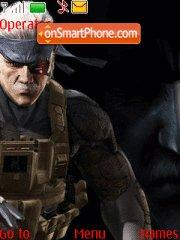 Metal Gear Solid 4 02 theme screenshot